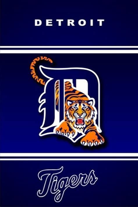 Detroit Tigers Sports iPhone Wallpapers, iPhone 5(s)/4(s