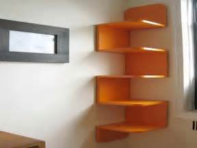 Bloombety : Wall Shelf Ideas The Corner Different Options