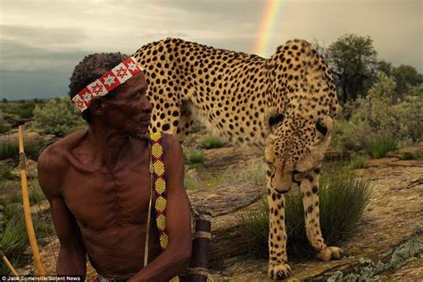 Namibia's San Tribe Hunt with Poisoned Arrows and Cheetahs