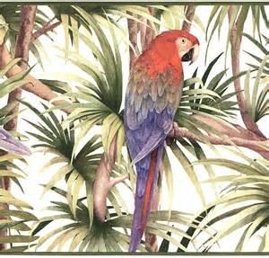 BIRDS WALLPAPER BORDER 11C6 NT5809B Cheap bird print wallpaper
