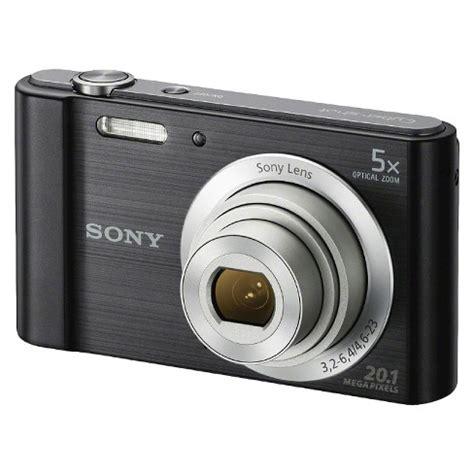 Sony W800/B 20MP Digital Camera with 5X Optical Zoom : Target