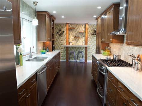 Kitchen : Good Galley Kitchen Design Inspiration With