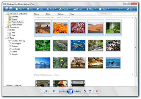 Download the latest version of Windows Live Photo Gallery