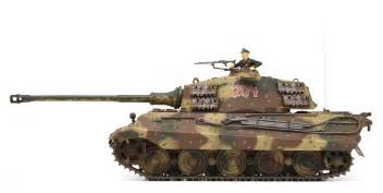 German King Tiger Tank Ww2 The king tiger tank comes in