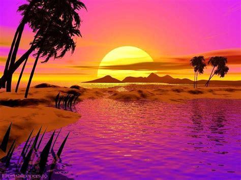Sunset Desktop Backgrounds Free Wallpaper Cave