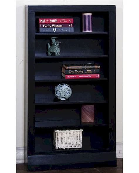 Black Open CD/ DVD Rack by Sunny Designs SU 2250B