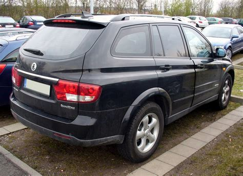 File:SsangYong Kyron Facelift HeckJPG Wikimedia Commons