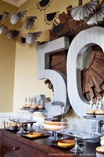 50th Birthday Ideas Decorating