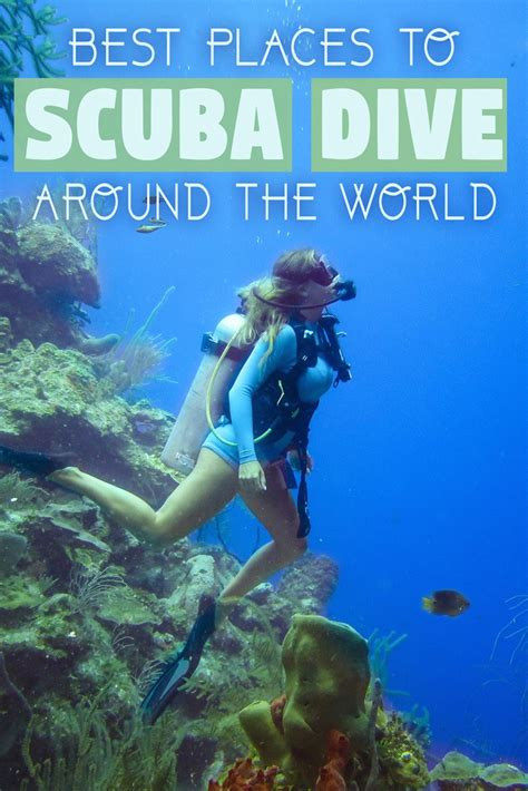 Best Places to Scuba Dive Around the World • The Blonde Abroad