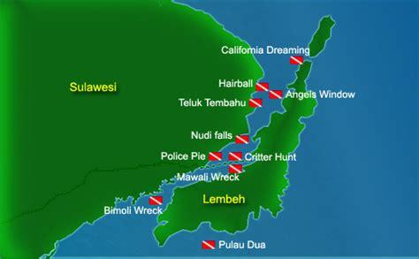Asia Dive Travel Lembeh Strait Dive Sites