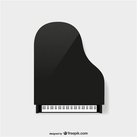 Piano, vue de dessus Télécharger des Vecteurs gratuitement