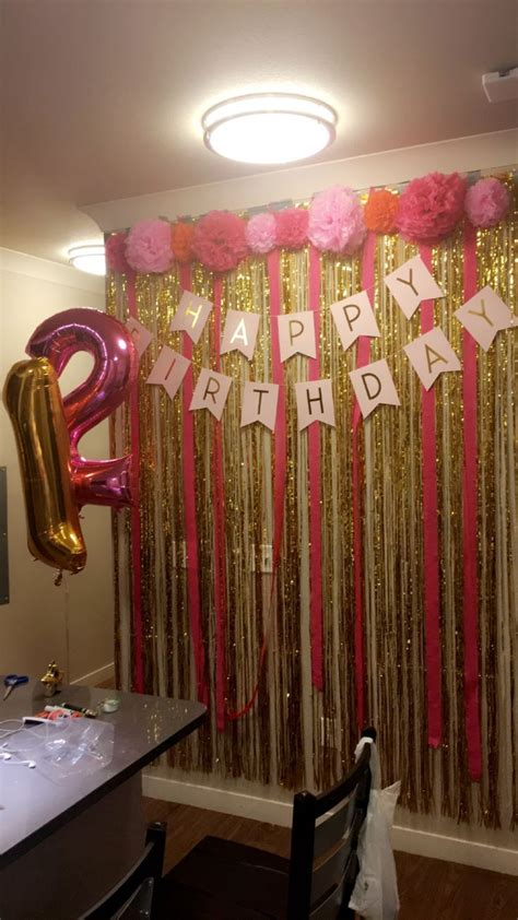 25 best ideas about 21st Birthday Decorations on