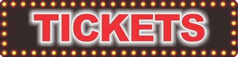 Novelty Sign Theater Tickets Fun Sign Factory