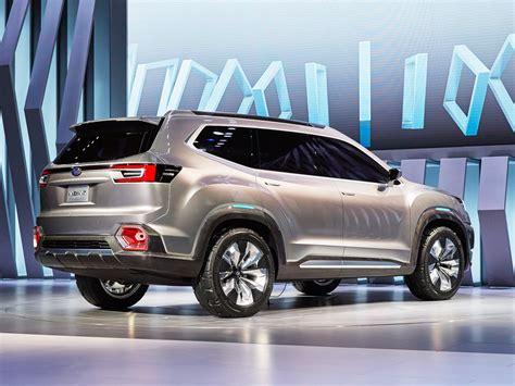 Subaru just unveiled a new three row SUV called the VIZIV