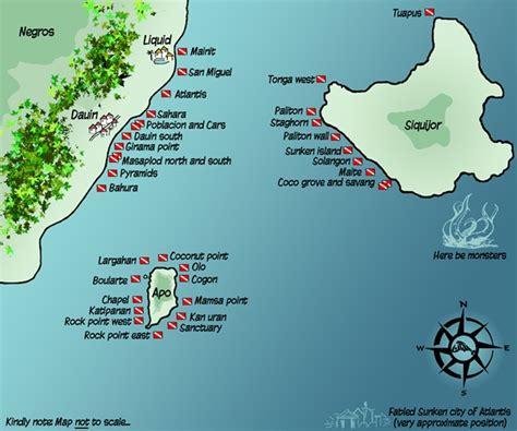 Dumaguete Philippines Dive Sites, Spots & Locations