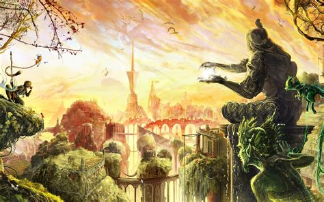 Fantasy world wallpaper Fantasy wallpapers #34312