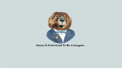 Well Dressed animals with rap quotes wallpapers Rando