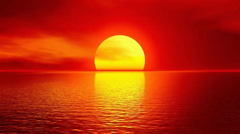 Amazing red sunset wallpapers hd free download