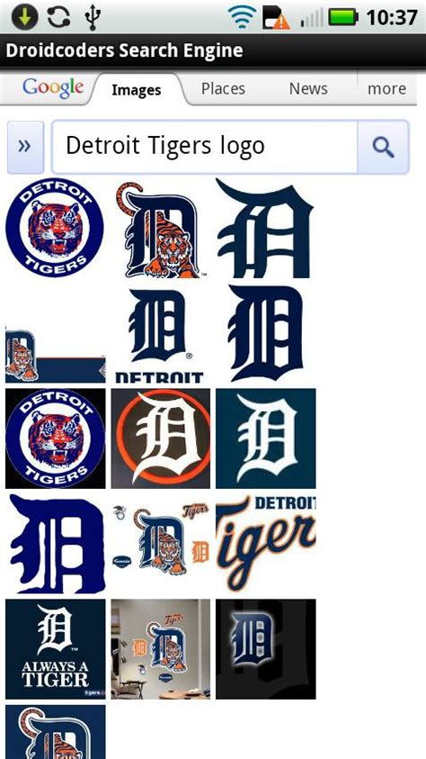 Detroit Tigers Live WALLPAPER Android App : DroidCoders