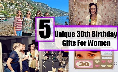 30th Birthday Gift Ideas For Men And Women Unusual 5