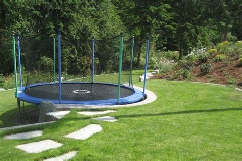 Trampoline on Sloped Ground: How to Set Up GetTrampolinecom