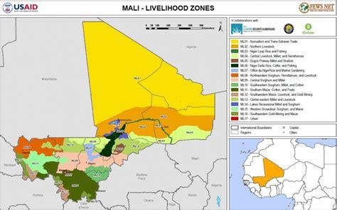 Mali Livelihood Zone Map: Mon, 2015 03 23 Famine Early