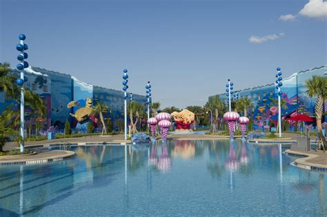 Disney's Art of Animation Resort: ÒBig BlueÓ Pool