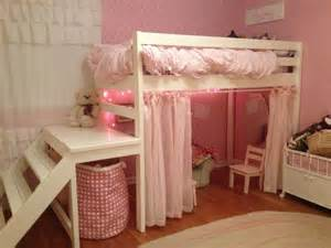 17 Best ideas about Girl Loft Beds on Pinterest Bunk