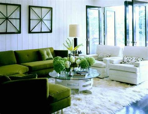 Lime Green And White Modern Living Room Best site wiring