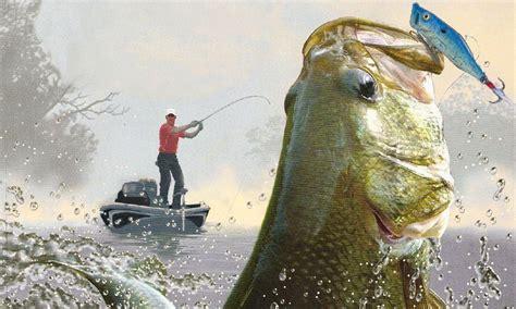 Bass Fishing Wallpaper For Iphone Wallpapersafari Fish Live