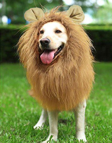 Youthink Lion Mane For Dog Large Medium With Ears Pet Lion