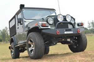 Mahindra Thar Modified images
