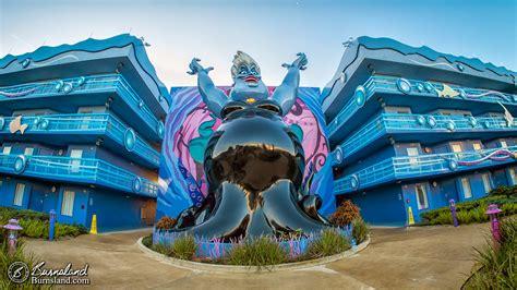 Triton Vs Ursula at the Art of Animation Resort at Walt