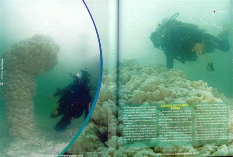 Dive the Dead Sea Article in Nurkovanie Diving Magazine