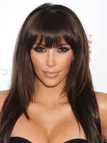 hairstyles with bangs celebrity