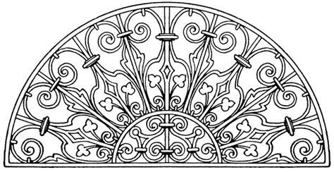 Italian Renaissance Lunette Panel ClipArt ETC