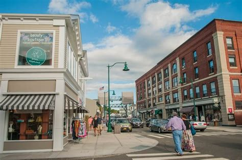 Mystic, Connecticut West Main Street Main Street Blog