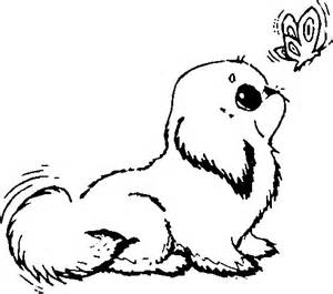 Puppy Coloring Sheets on Puppy Coloring Pages