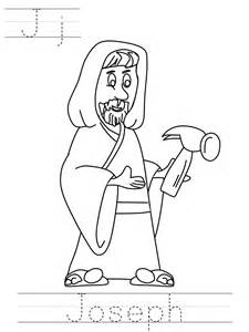 Angel And Joseph Coloring Page Nativity coloring pages