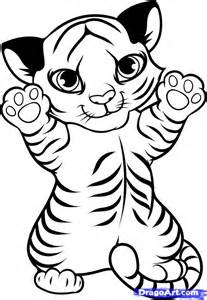 White Tiger Coloring Pages - AZ Coloring Pages
