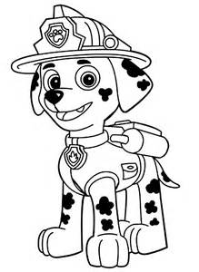 Sky Queen Paw Patrol Color Sheet | Coloring Kids