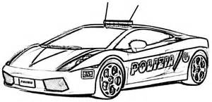 ... Printable Transportation Police Car Colouring Pages For Toddler #52338