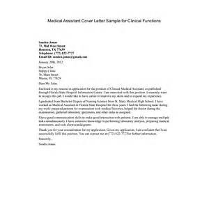 Medical Assistant Resume Cover Letter Samples