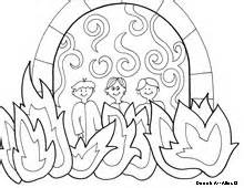shadrach meshach and abednego coloring pages