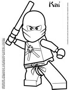 Cartoon Network Ninjago Kai Coloring Page