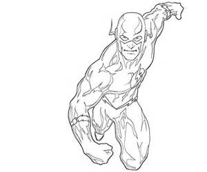 ... print these Flash coloring pages for free. Flash coloring pages