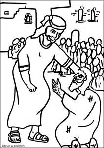 leprosy Colouring Pages