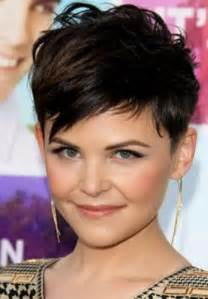 pixie cut with full messy top and short sides back best