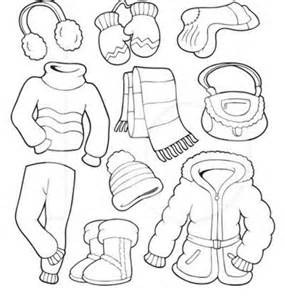 Clothes Coloring Page Free for Kids / 1000+ Free Printable Coloring ...