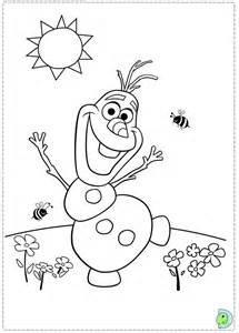 Frozen coloring pages, Disney